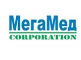 "Логотип Компания ""МегаМед Корпорэйшн"" - медицинское оборудование"